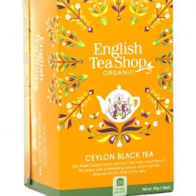 Черен цейлонски чай – био, English tea shop, 20 бр